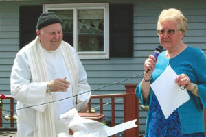 Sr Rita introduces Fr Bernard Sippel - Rosary for Peace