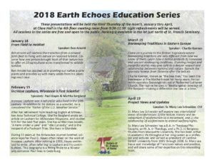 2018 Flyer - Education Series