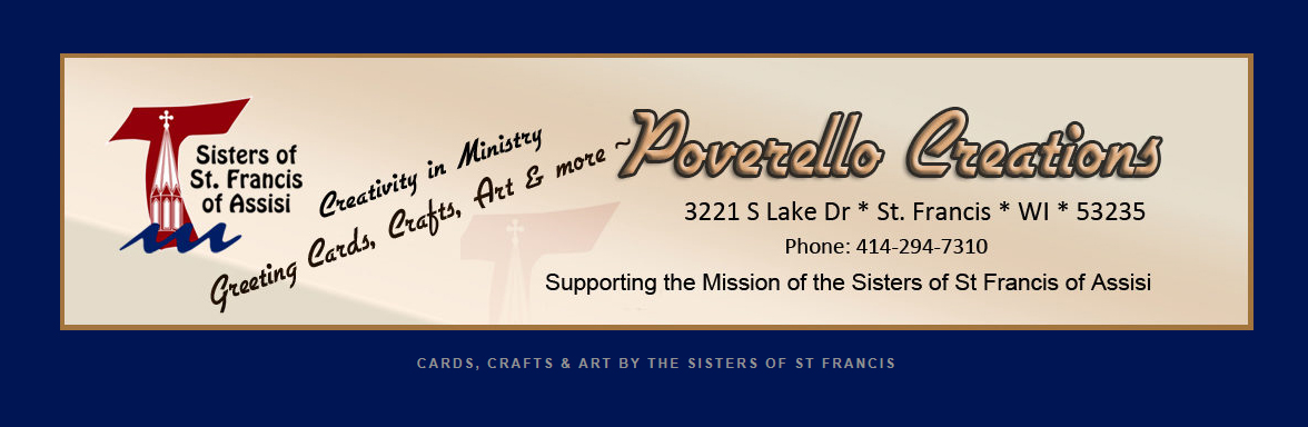 Header image from Poverello Creations website.
