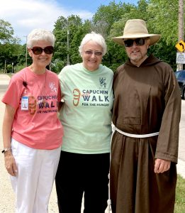Sr. Diana with Dorothy Boyer and Brother Jim